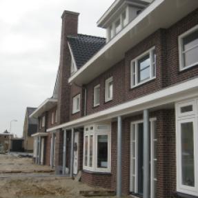 Nieuwbouw 2x rijwoning Collectief Particulier Opdrachtgeverschap te Sint Jansklooster