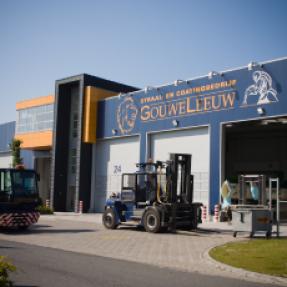 Nieuwbouw bedrijfspand+kantoor Spuiterij Gouweleeuw te Emmeloord