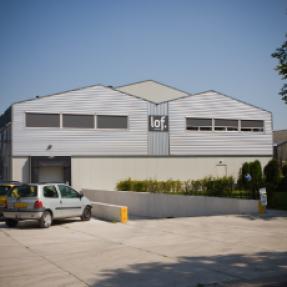 Nieuwbouw kistenbewaarplaats de Vries Witlof te Espel