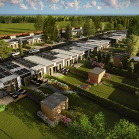 Nieuwbouw 36 rijwoningen Flamingopoort Oosterwold Almere