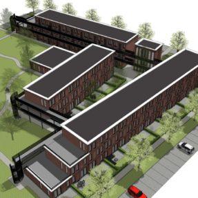 Nieuwbouw appartementencomplexen 'de Honingraad'