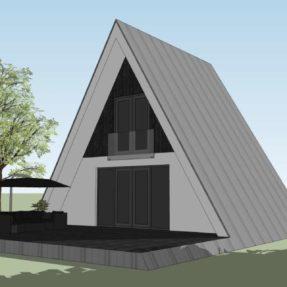 Nieuwbouw Tiny House 'A-woning'