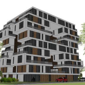 Nieuwbouw appartementencomplex 'de 8'