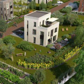 Nieuwbouw 34 woningen 'de Tulp' Oosterwold Almere