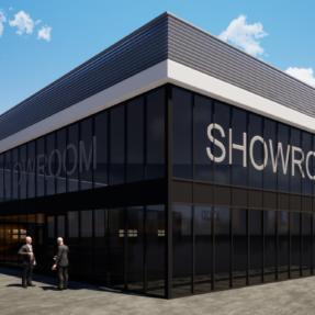 Nieuwbouw bedrijfspand Stehouwer International