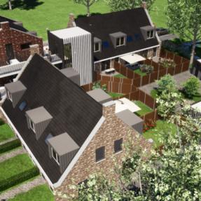 Nieuwbouw 9 woningen Vollenhove