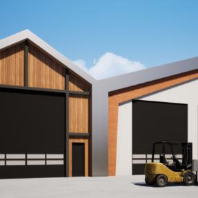 Nieuwbouw bedrijfspand + woning Biddinghuizen