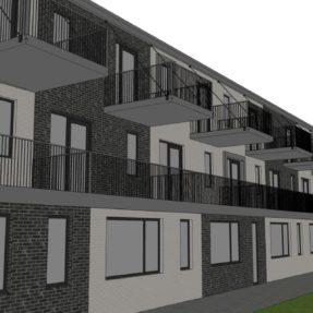 Nieuwbouw appartementencomplex 'Solarium'