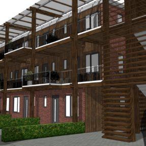 Nieuwbouw appartementencomplex 'de Ster'