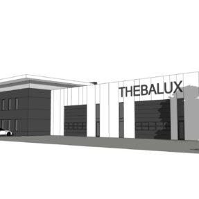 Nieuwbouw bedrijfspand Thebalux Biddinghuizen