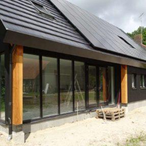 Nieuwbouw schuurwoning te Espel