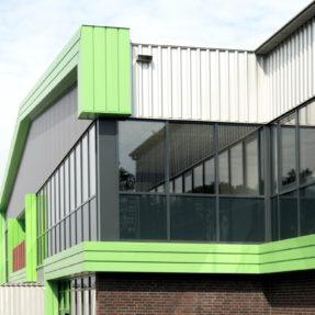 Nieuwbouw bedrijfspand Top Fresh Kraggenburg