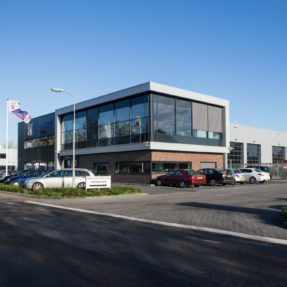 Nieuwbouw bedrijfspand Veluwenkamp Hattem
