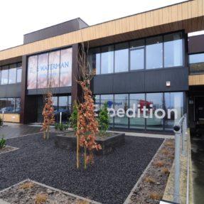 Nieuwbouw kantoor Waterman Onions Emmeloord